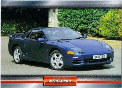 dodge stealth and mitsubishi 3000gt non-factory literature