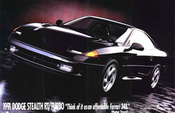 Poster Stealth Black Med on 1991 Acura Nsx